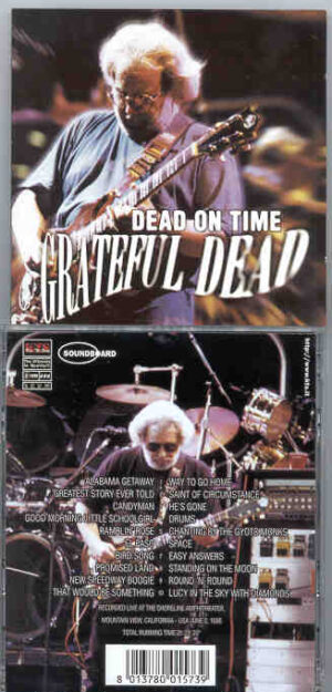 Grateful Dead - Dead On Time ( Mountain View , Ca , USA , June 2nd , 1995 ) ( KTS ) ( 2 CD!!!!! set )
