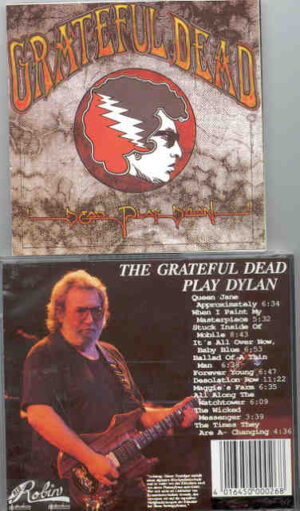 Grateful Dead - Dead Play Dylan ( Dylan Songs Play by Grateful Dead Live From 1987 to 1992 )