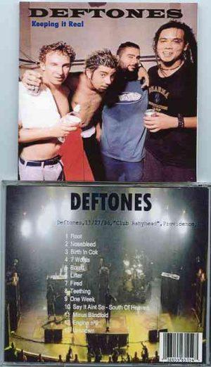 Deftones - Keeping It Real ( Live at Club Babyhead , Providence , RI , November 27th , 1996 )