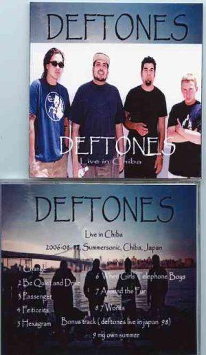 Deftones - Live In Chiba  ( Summer sonic , Chiba , Japan , 2006 -8 -12 )
