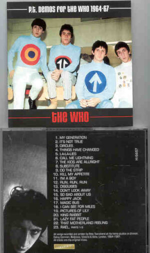 The Who - Demos 64/67 ( Pete Townshend's Home Studio Material )