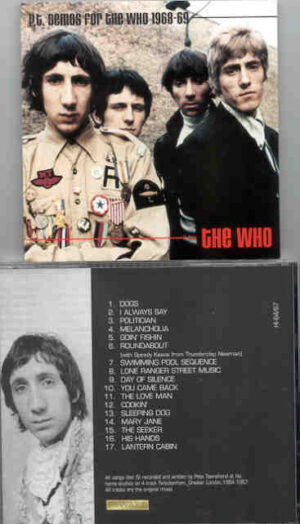 The Who - Demos 68/69 ( Pete Townshend's Home Studio Material )