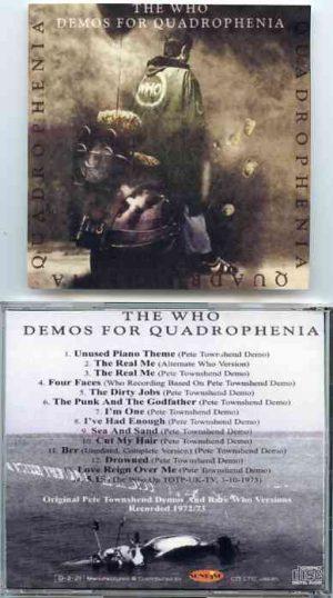 The Who - Demos For Quadrophenia ( Original Pete Townshend Demos And Rare Who Versions )