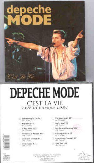 Depeche Mode - Ces't La Vie ( Swingin' Pig ) ( Live In Europe 1984 )