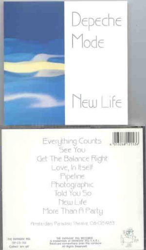 Depeche Mode - New Life ( Swingin' Pig ) (Live In Amsterdam , Paradiso Theatre , 06-02-1983 )