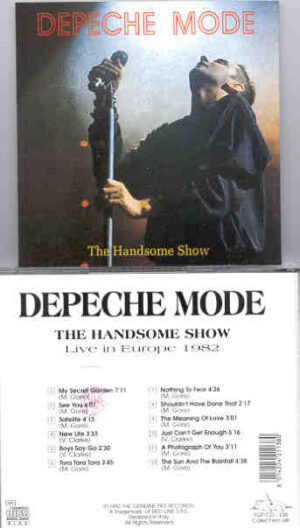Depeche Mode - The Handsome Show ( Swingin' Pig ) ( Live In Europe 1982 )