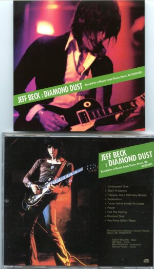 Jeff Beck - Diamond Dust ( Live at Masonic Temple Theatre , Detroit , Michigan , USA , May 9th , 1975 )