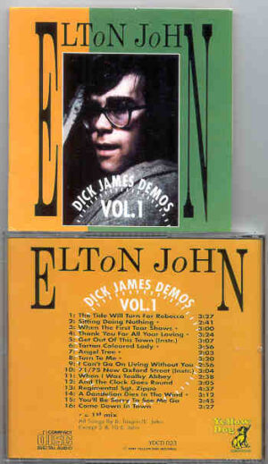 Elton John - Dick James Demos Vol. 1  ( Yellow Dog )