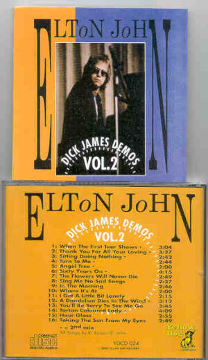 Elton John - Dick James Demos Vol. 2  ( Yellow Dog )