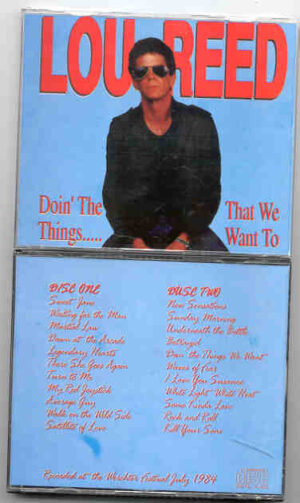 Lou Reed / Velvet Underground - Doing The Things We Want To Do ( 2 CD!!!!! SET )