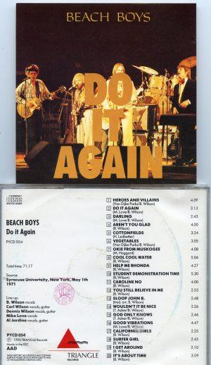 The Beach Boys - Do It Again ( Live at Syracuse University , New York , USA , May 1st , 1971 ) ( Triangle )