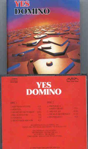 Yes - Domino ( 2 CD!!!!! SET ) ( Live in California, USA  1988 + Bonus Texas 1974 )