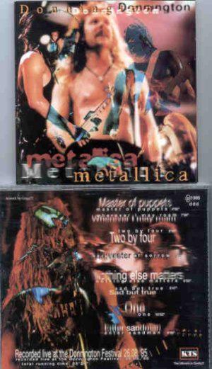 Metallica - Donnington ( KTS ) ( Donnington Festival , August 26th , 1995 )