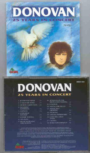 Donovan - Donovan 25 Years In Concert
