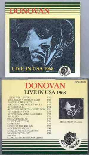 Donovan - Live In The USA 1968