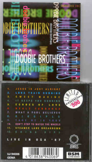 The Doobie Brothers - Live In USA 1987