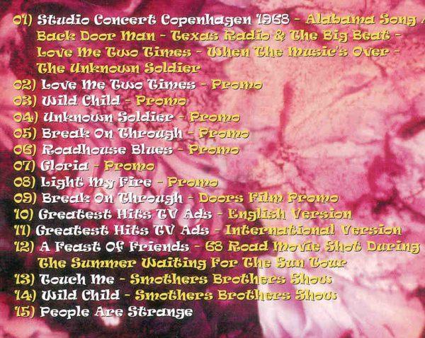 DVD Doors - Lizard Kings ( Rare Promo and Live Performances )
