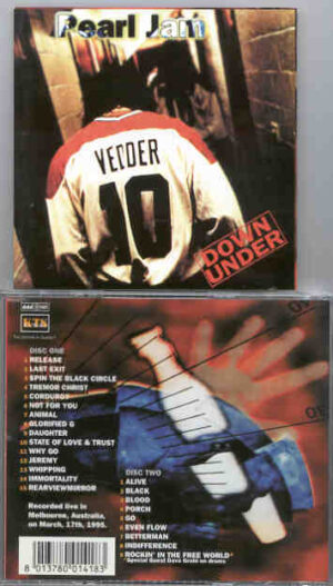 Pearl Jam - Down Under ( 2 CD!!!!! SET ) ( KTS )