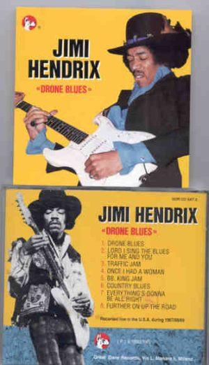 Jimi Hendrix - Drone Blues  ( Great Dane Recs ) ( Live in the USA 1967-1970 )