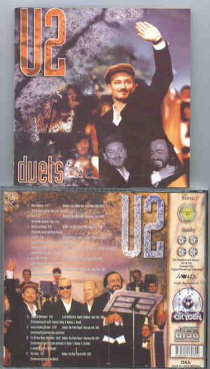 U2 - Duets ( LIVE Duets performed with Van Morrison , Pavarotti , Peter Gabriel , Bob Dylan , Prince and more )