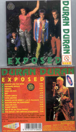 Duran Duran - Exposed ( Various rare Live Tracks )