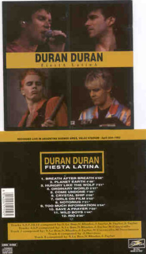 Duran Duran - Fiesta Latina ( Velez Sarsfield Stadium , Bs As , Argentina , April 30th , 1993 )