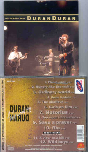 Duran Duran - Hollywood 1993 ( Live At Tower Records on Sunset Blvd , Hollywood , California , May 14th , 1993 )