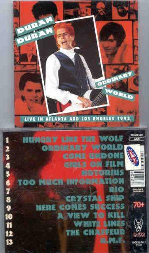 Duran Duran - Ordinary World ( Atlanta & Los Angeles 1993 )( Great Dane )