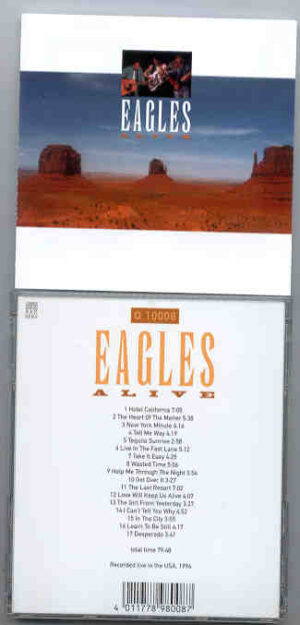 The Eagles - Eagles Alive