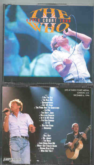 The Who - Earl's Court 1996 ( 2 CD!!!!! SET )