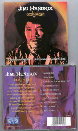Jimi Hendrix - Early Daze ( Collection of Early works , 1965 )