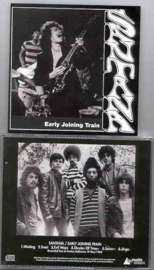 Santana - Early Joining Train   ( Live Soundboard at Avalon Ballroom , SF , CA , USA , December 1968 )