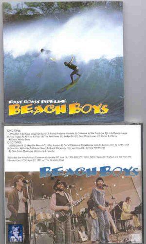 The Beach Boys - East Coast Pipeline ( 2 CD!!!!! set ) ( Nassau Coliseum , New York ,Jun 14th '74  &  Fillmore April '71 w/  Grateful Dead