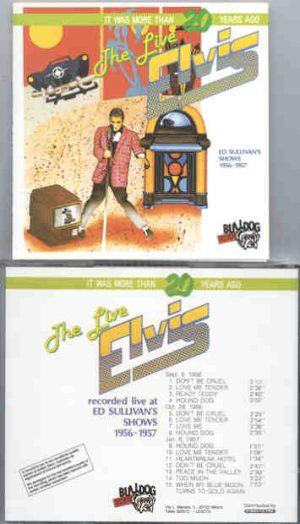 Elvis Presley - Ed Sullivan's Shows 1956 - 1957  ( Bulldog )