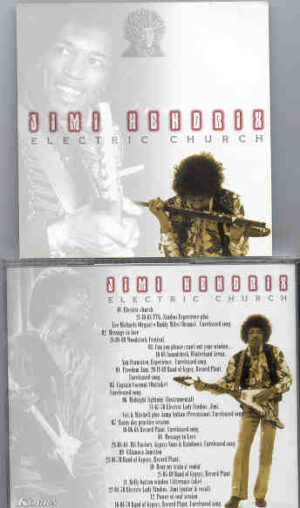 Jimi Hendrix - Electric Church ( 12 Unreleased tracks , mostly from the Record Plant )