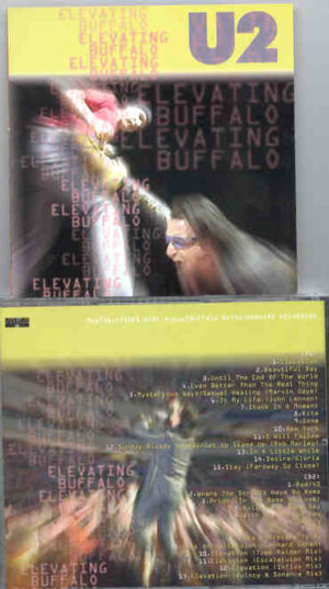 U2 - Elevating Buffalo ( 2 CD!!!!! SET ) ( HSBC Arena , Buffalo , NY , USA , May 31st , 2001 )