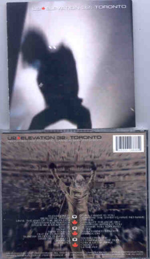 U2 - Elevation 32 Toronto ( 2 CD!!!!! SET ) ( Toronto , Canada , May 25th , 2001 )