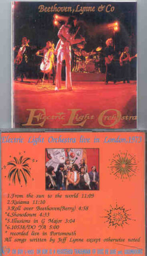 Electric Light Orchestra - Beethoven , Lynne & Co. ( Oh Boy Recs )