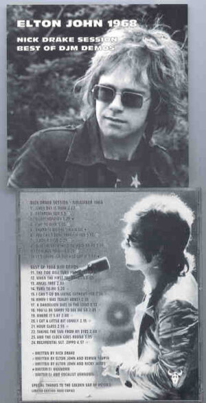 Elton John - Elton John 1968 ( Nick Drake Sessions & DJM Demos )