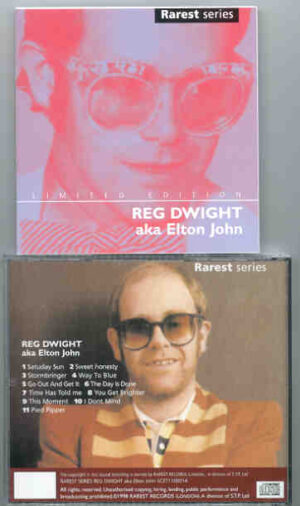 Elton John - Reg Dwight AKA Elton John