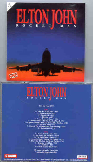 Elton John - Rocket Man ( On Stage ) ( Live On Tour 1993 ) ( 2 CD!!!!! set )