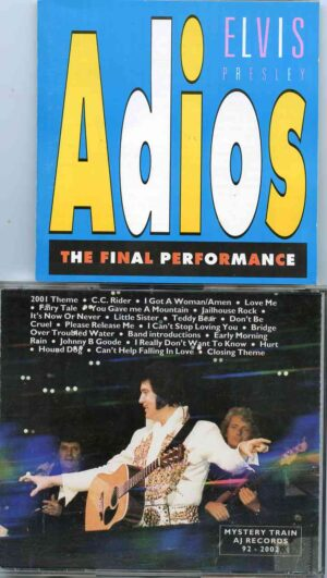 Elvis Presley - Adios - The Final Performance ( Market Square Arena , Indianapolis , IN , June 26th , 1977 )