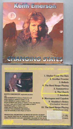 Emerson , Lake & Palmer - Changing States