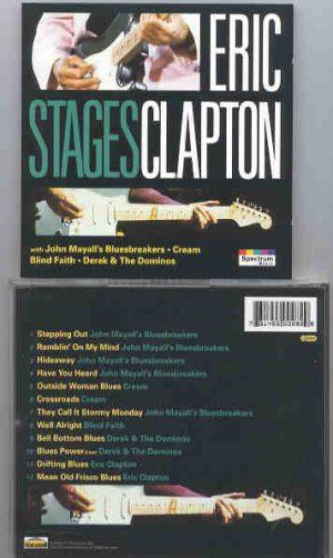 Cream - Stages ( Cream , Bluesbreakers , Derek & The Dominoes )