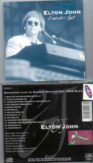 Elton John - Europe 1992 ( Live Storm ) ( Live In Europe During the 1992 European Tour )