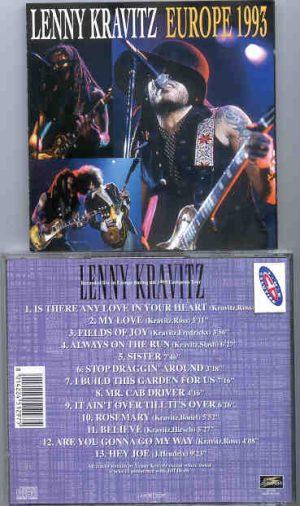 Lenny Kravitz - Europe 1993 ( Live Storm )