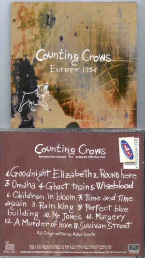 Counting Crows - Europe 1994 ( Live Storm ) ( Live In Europe During The 1994 Eurotour )