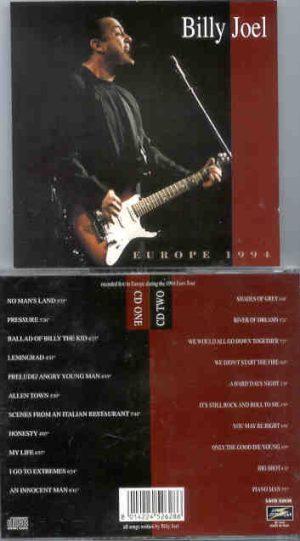 Billy Joel - Europe 1994 ( 2 CD!!!!! SET ) ( Live Storm )