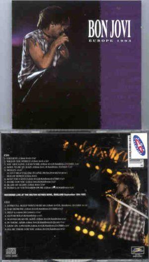 Bon Jovi - Europe '93 ( 2 CD!!!!! set )  ( Live Storm )  ( Hilton Keynes Bowl , England , September 18th , 1993 )