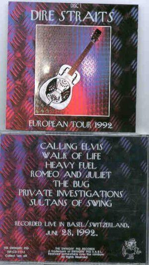 Dire Straits - European Tour 1992 Part One  ( Swingin Pig )